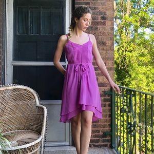 White House Black Market Asymmetrical Dress